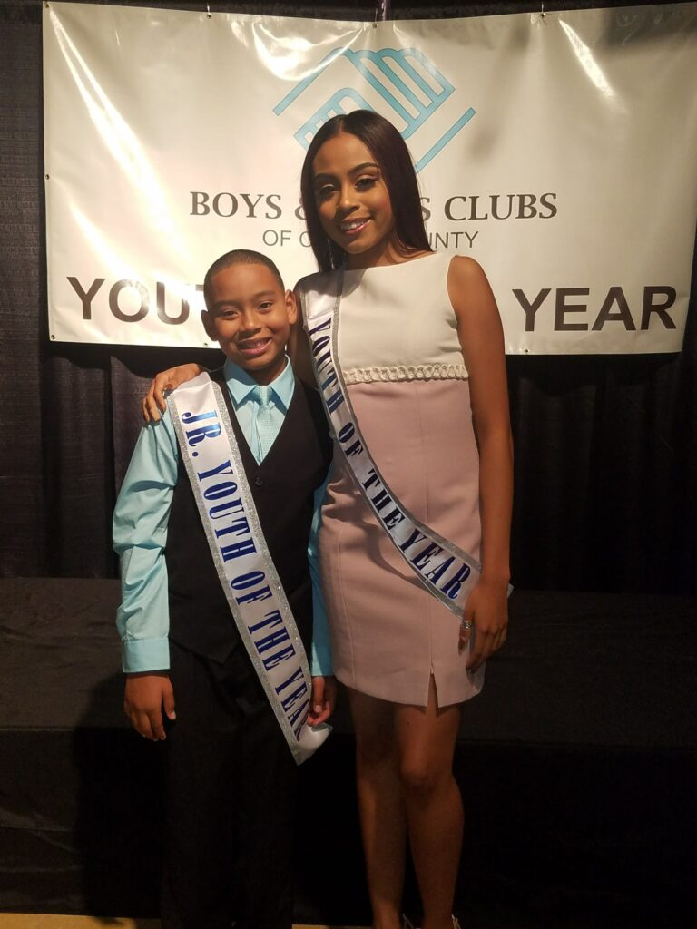Boys Girls Club Youth Award