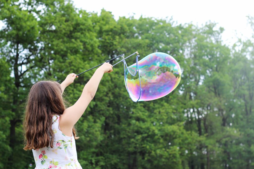 Bubble Outdoors Science
