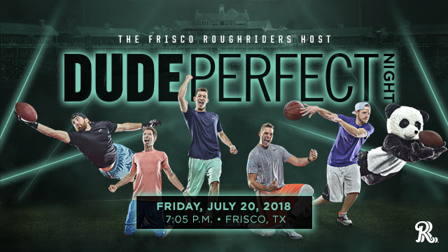 Dude Perfect Frisco RoughRiders