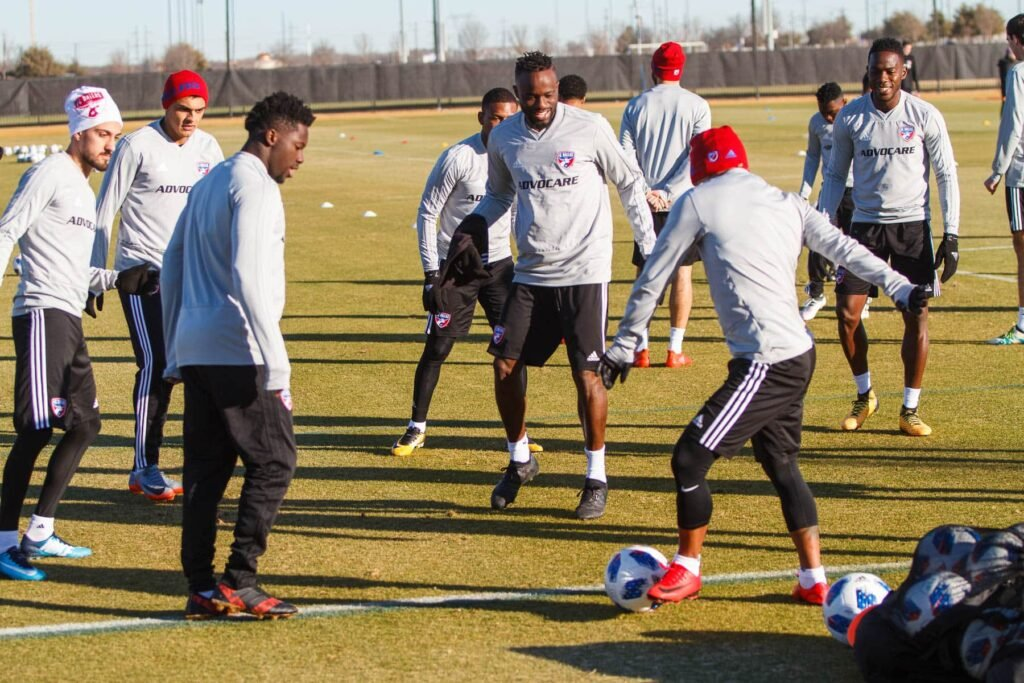 FC Dallas practice Feb 2018