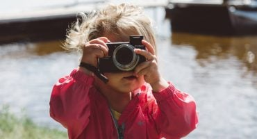 Toddler Camera Photography