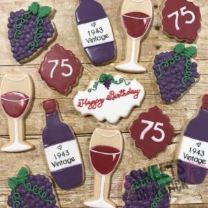 wine cookies - Sweets On A Stick