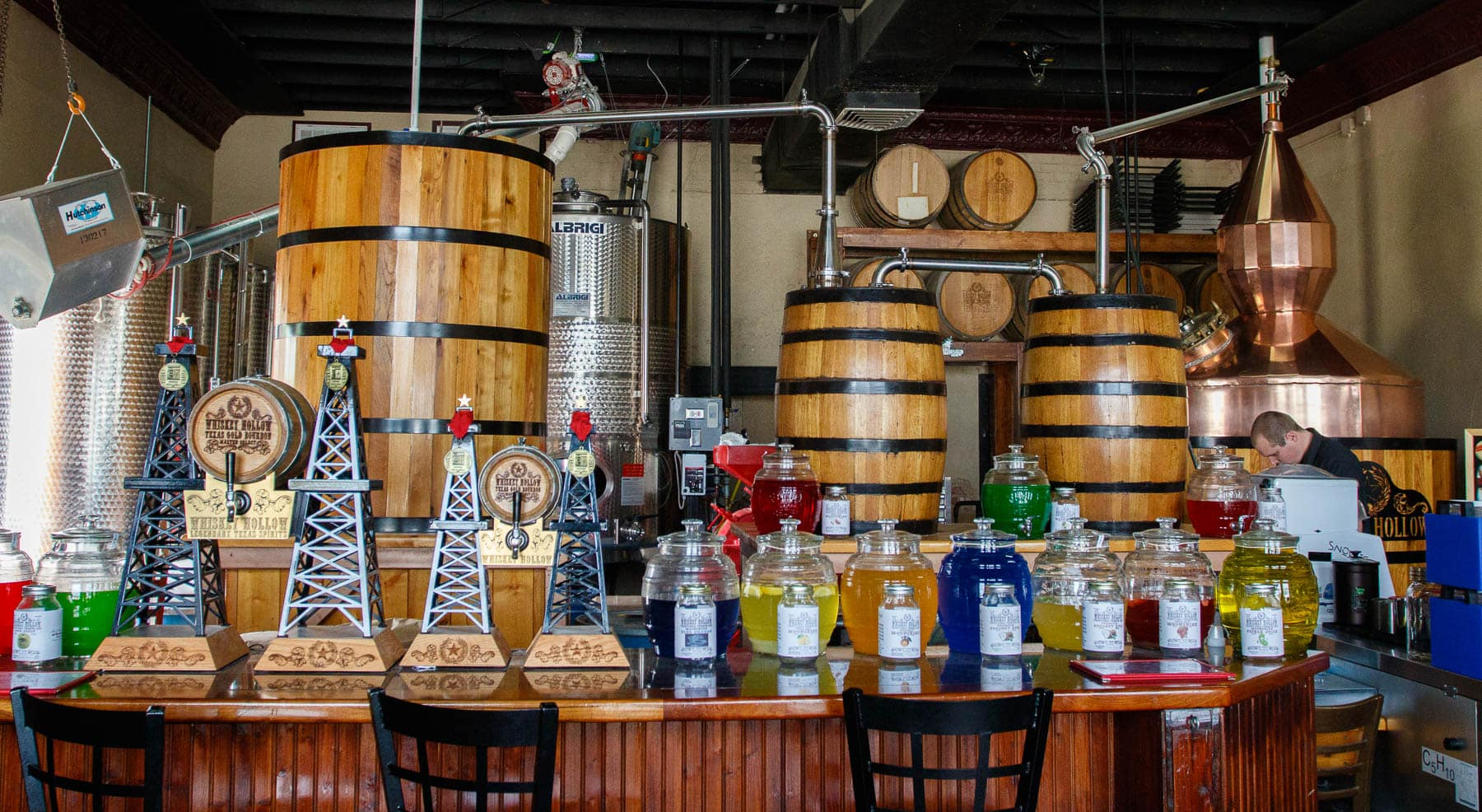 Whiskey Hollow Distillery