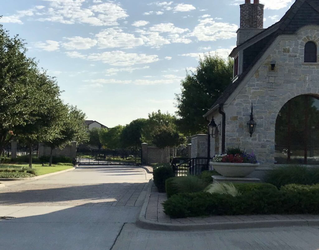 Newman Village Frisco gated