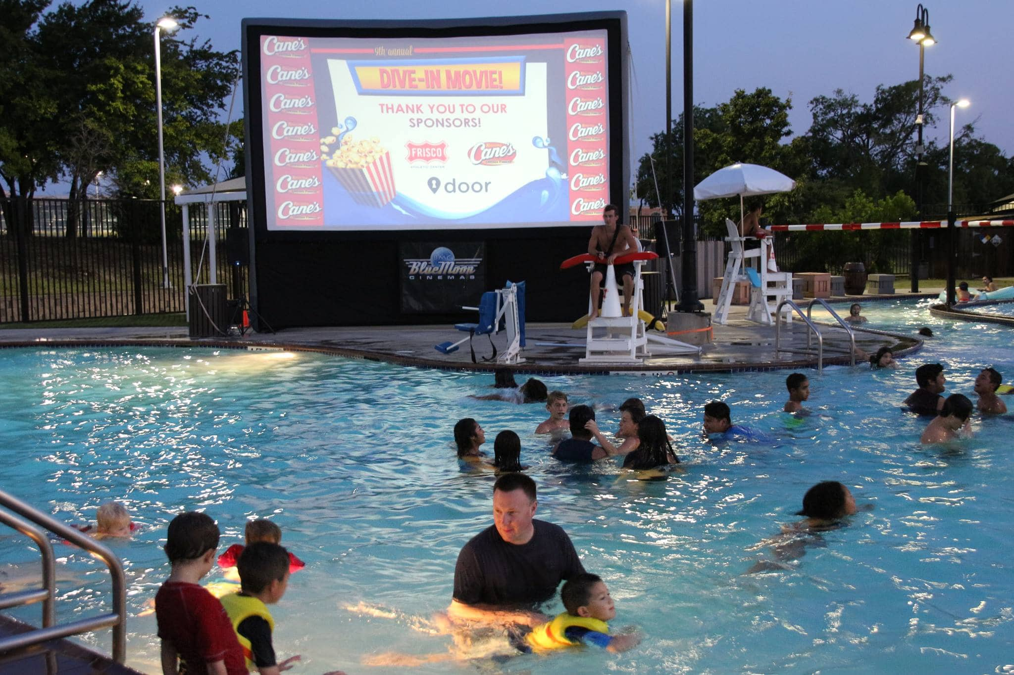 Frisco Water Park Dive In Movie