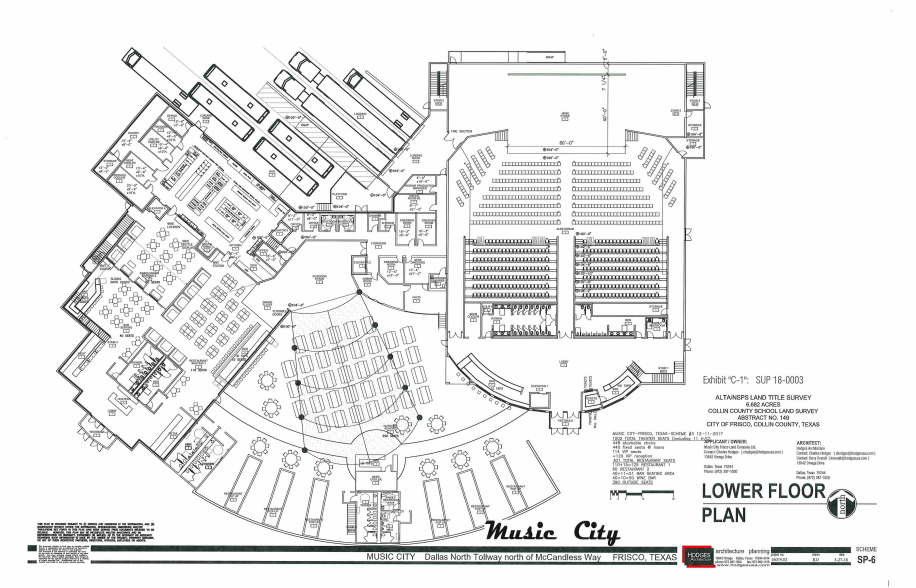 Music City Layout