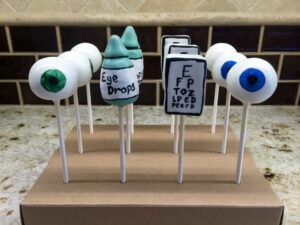 Sweets on a Stick eyeballs