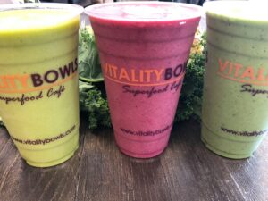 Vitality Bowls Frisco smoothies