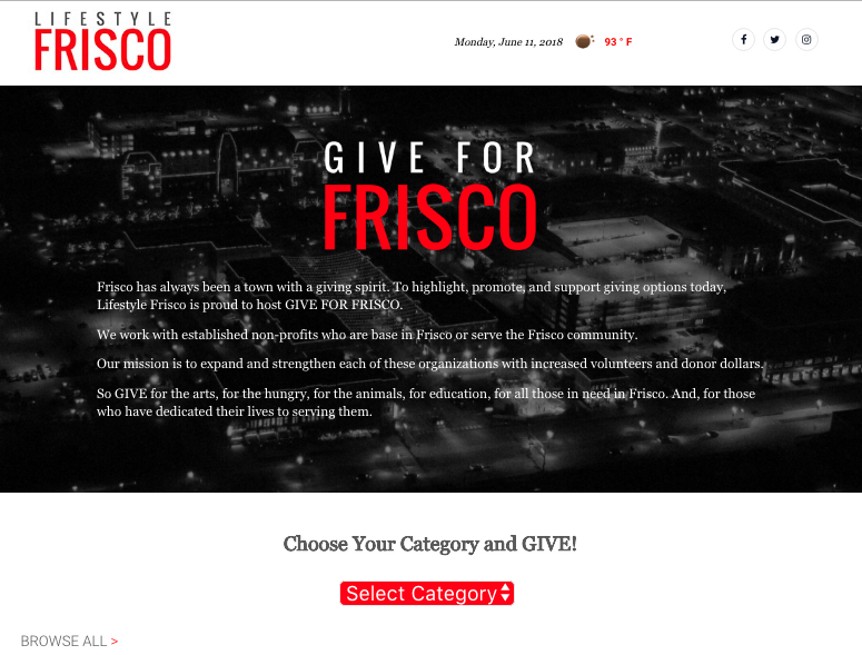 give-for-frisco