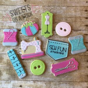 Sweets on a Stick Sew Fun Studios