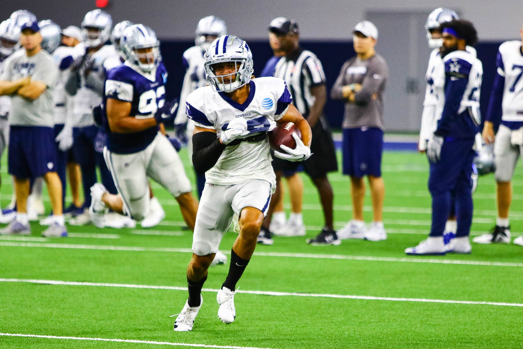 2018 Dallas Cowboys training camp 12