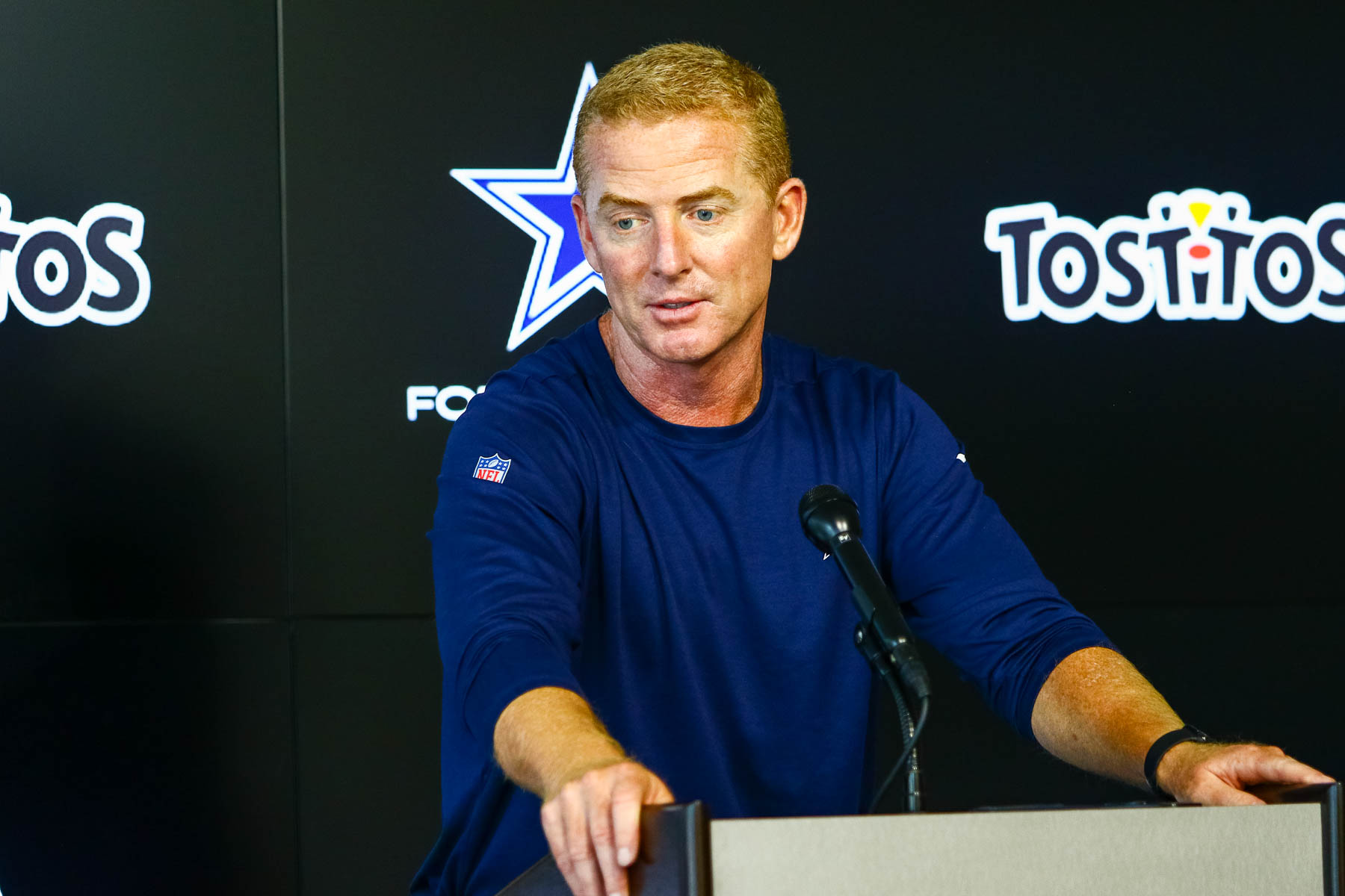 Coach Garrett The Star training