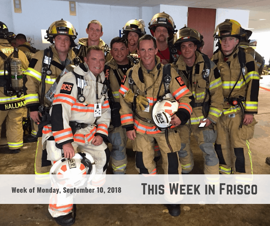 This Week in Frisco 9-10-18