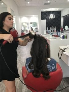 Cherry Blow Dry Bar 5