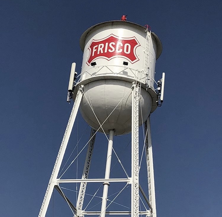 Rail District - Frisco Water Tower