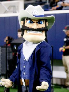 Tana Cross Lone Star High mascot