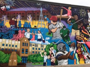 Downtown Frisco mural 6