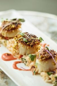 Pistachio Crusted Sea Scallops Dee Lincoln
