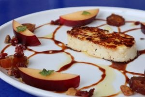 Zaytinya Frisco Seared Halloumi Cheese