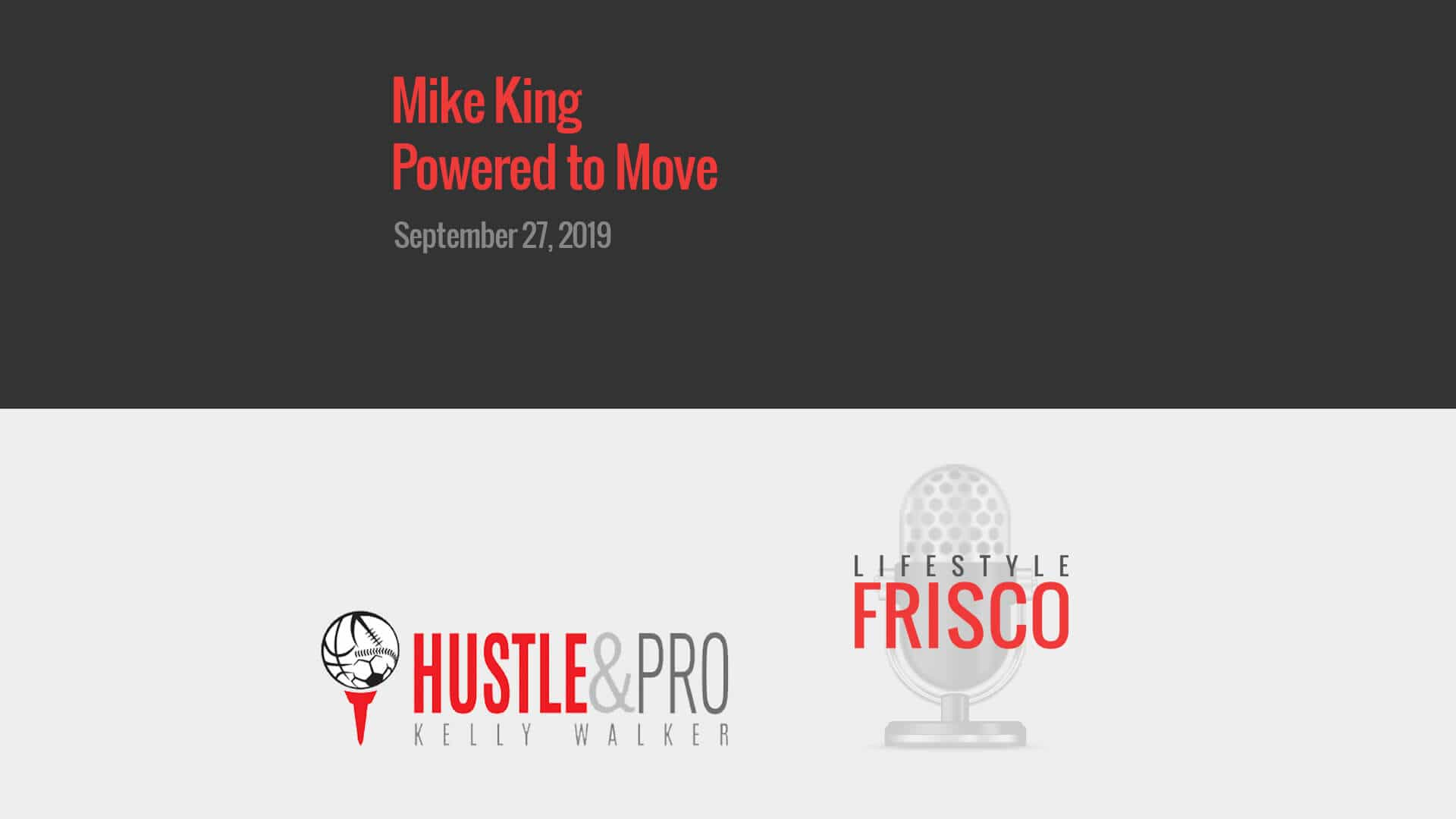 lifestyle frisco podcast Mike King