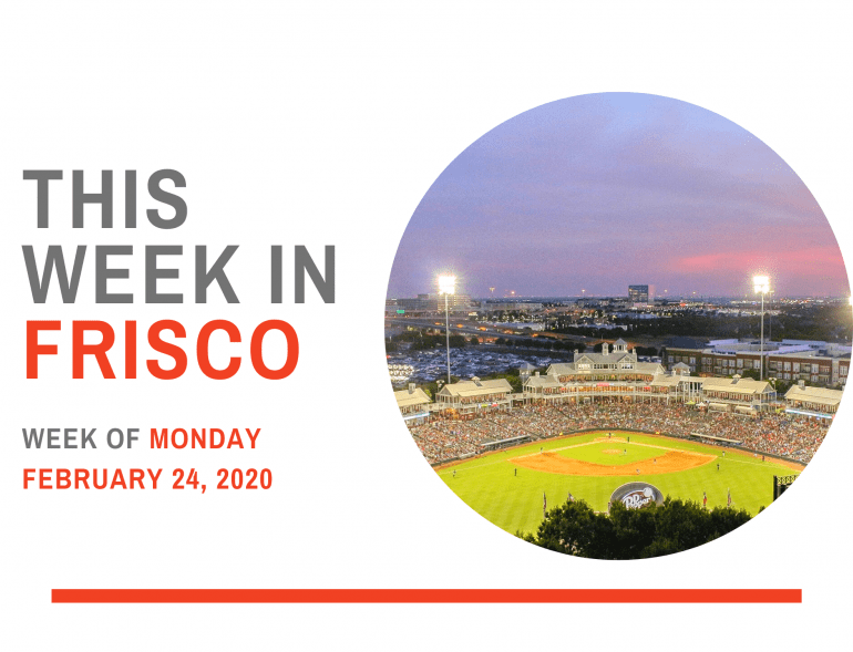 THIS WEEK IN FRISCO 1