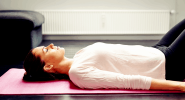 yoga savasana rest stillness