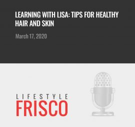 Lisa Stubbs on The Frisco Podcast