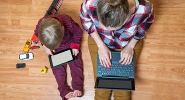 parenting working from home kids