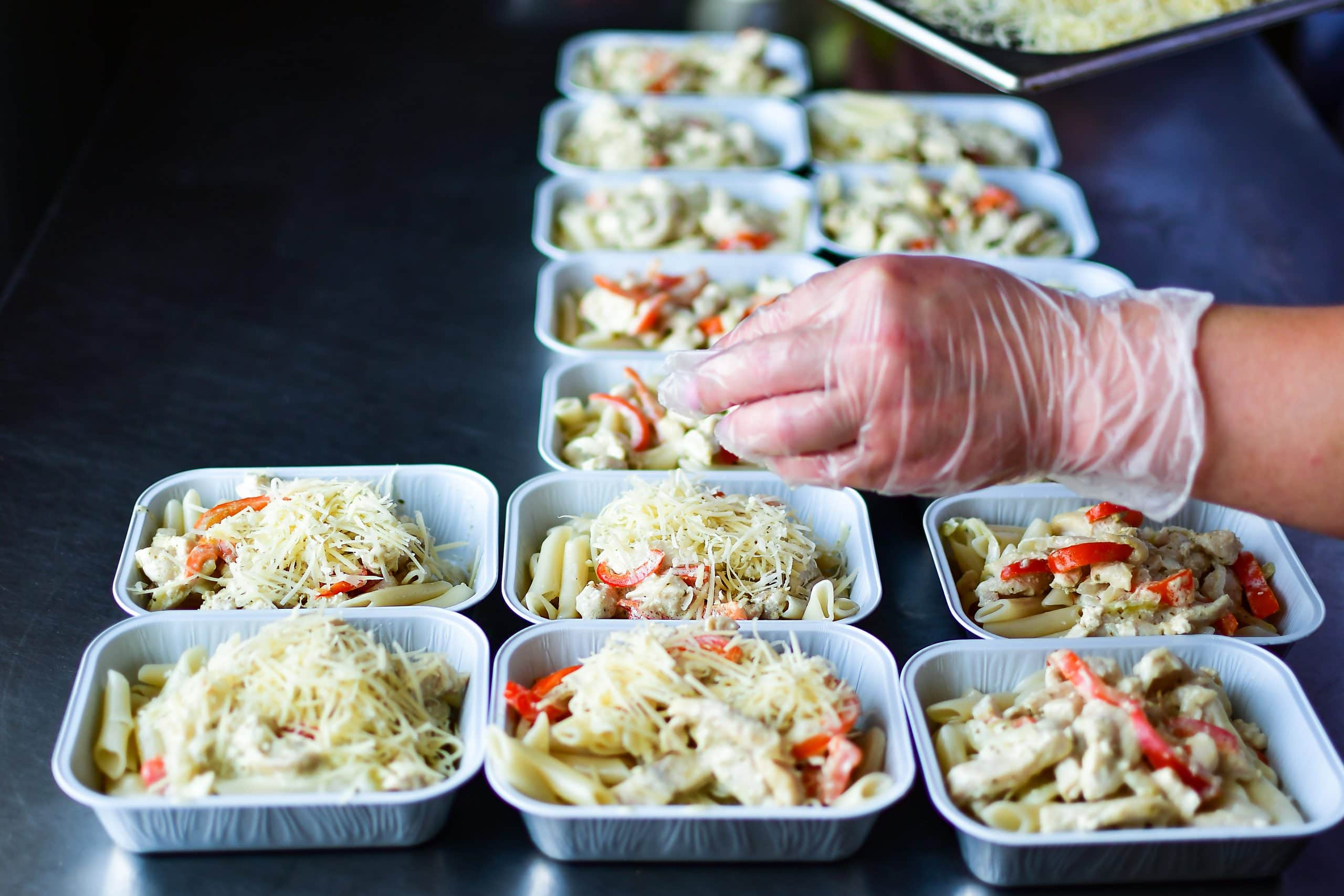 Chefs meal prep covid