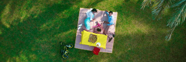family picnic email header