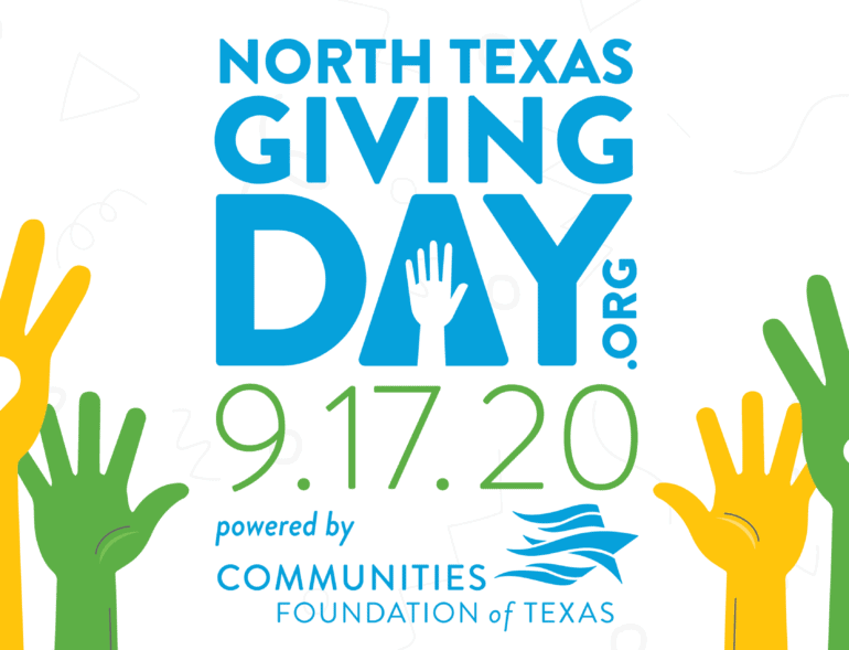 2020FacebookCover North Texas Giving Day